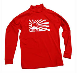 Mens ls rash red (8 pack)